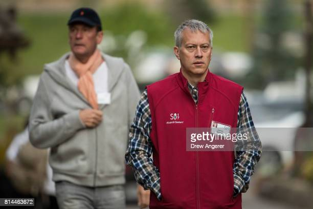 James Quincey chief executive officer of the CocaCola Company attends the fourth day of the annual Allen Company Sun Valley Conference July 14 2017...