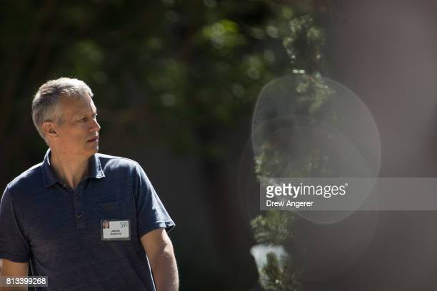 James Quincey president and chief executive officer of The CocaCola Company attends the second day of the annual Allen Company Sun Valley Conference...
