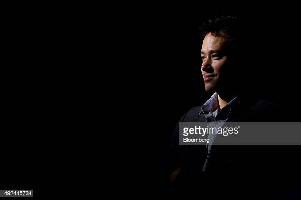James Ramsey cofounder and creator of The Lowline stands for a photograph at the space in New York US on Monday Oct 12 2015 An underground park in...