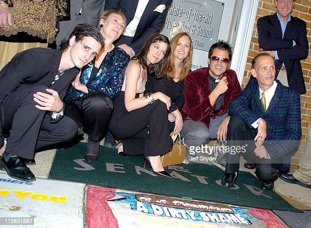 James Ransome, Mink Stole, Selma Blair, Patricia Hearst, Johnny Knoxville and John Waters