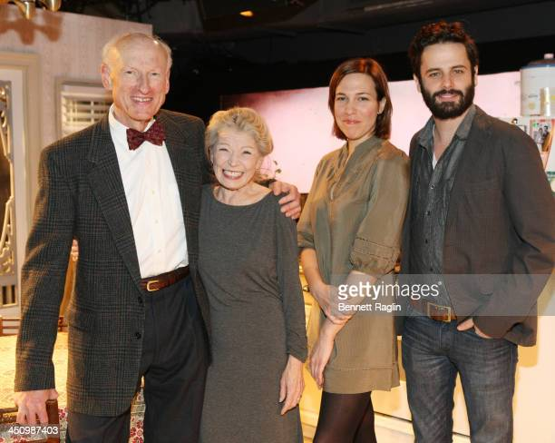 James Rebhorn Phyllis Somerville Rebecca Henderson and Luke Kirby attend the 'Too Much Too Many Too Much Too Many' Opening Night after party at HB...