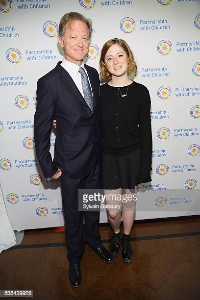 James Redford and Lena Redford attend the Partnership with Children's Spring Gala 2016 at 583 Park Avenue on June 6 2016 in New York City