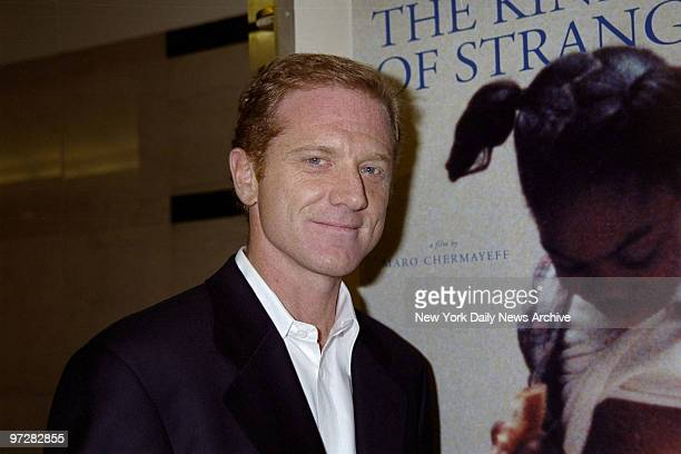 James Redford at HBO for the screening of his documentary The Kindness Of Strangers He produced the film