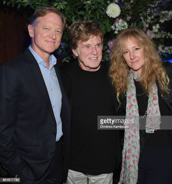 James Redford Robert Redford and Shauna Redford attend the Netflix Hosts The New York Premiere Of 'Our Souls At Night' at at The Oak Room on...