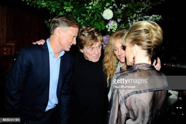 James Redford Robert Redford Shauna Redford and Jane Fonda attend Netflix hosts the after party for the New York Premiere of Our Souls at Night at...