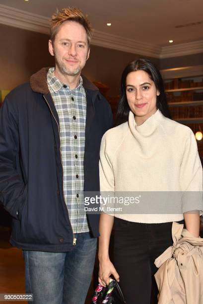 James Redmond and guest attend the press matinee after party for Brief Encounter at The Haymarket Hotel on March 11 2018 in London England
