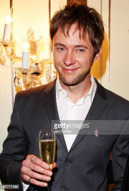 James Redmond arrives at the TV Quick TV Choice Awards Held at the Dorchester Hotel on September 8 2008 in London England