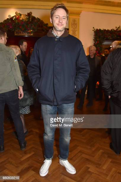 James Redmond attends the press matinee after party for Brief Encounter at The Haymarket Hotel on March 11 2018 in London England