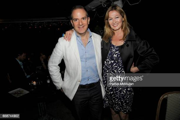 James Reginato and Kimberly DuRoss attend THE CINEMA SOCIETY THE NEW YORKER host the after party for WHATEVER WORKS at River Cafe on June 10 2009 in...