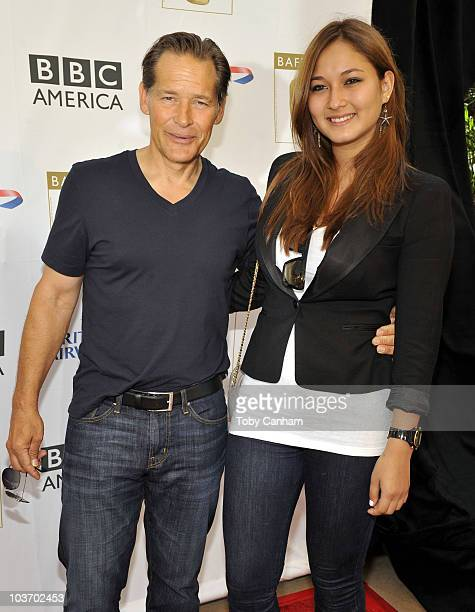 James Remar and Lisa Remar poses for a picture at the 8th Annual BAFTA/LA TV party held at the Hyatt Regency Hotel on August 28 2010 in Los Angeles...