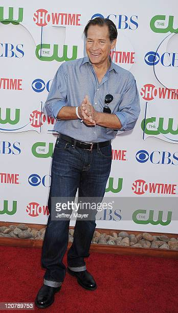 James Remar arrives at the TCA Party for CBS The CW and Showtime held at The Pagoda on August 3 2011 in Beverly Hills California