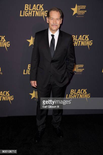 James Remar attends 'Black Lightning' World Premiere at National Museum Of African American History Culture on January 13 2018 in Washington DC