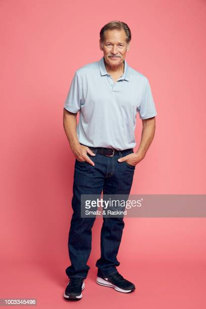 James Remar from CW's 'Black Lightning' poses for a portrait at the Getty Images Portrait Studio powered by Pizza Hut at San Diego 2018 Comic Con at...