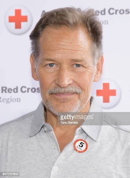 James Remer attends the Red Cross' 5th Annual Celebrity Golf Tournament at Lakeside Golf Club on April 16, 2018 in Burbank, California.