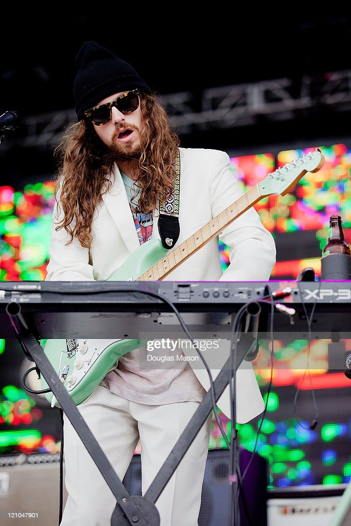James Richardsonof MGMT performs during the Outside Lands Music & Art Festival 2011 on August 12, 2011 in San Francisco, California.