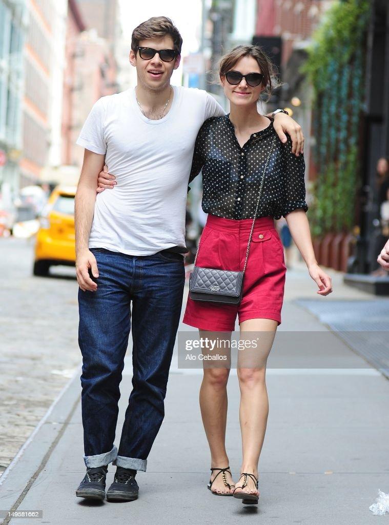 Keira Knightley Sighting In New York City - July 31, 2012 : News Photo