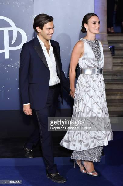 James Righton and Keira Knightley attend the Opening Season Paris Opera Ballet Gala as part of the Paris Fashion Week Womenswear Spring/Summer 2019...