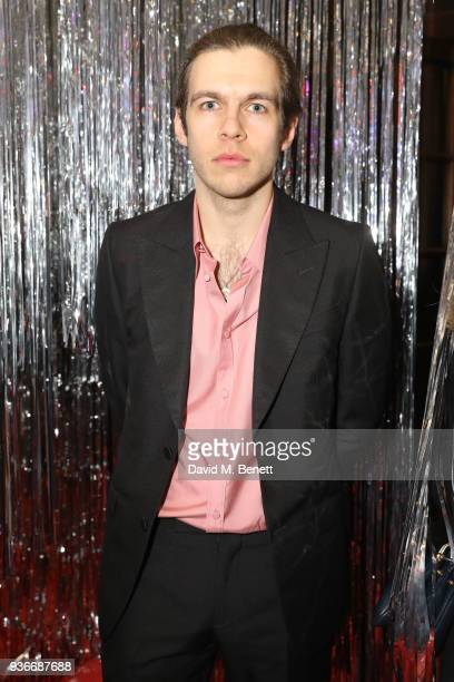 James Righton attends the SelfPortrait store opening afterparty at Central St Martins on March 22 2018 in London England