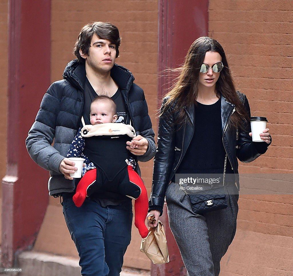 Celebrity Sightings In New York City - November 09, 2015 : News Photo