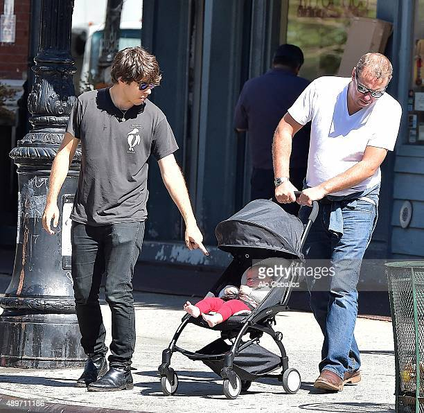 James Righton Nicholas Righton and Edie Righton are seen in Soho on September 23 2015 in New York City