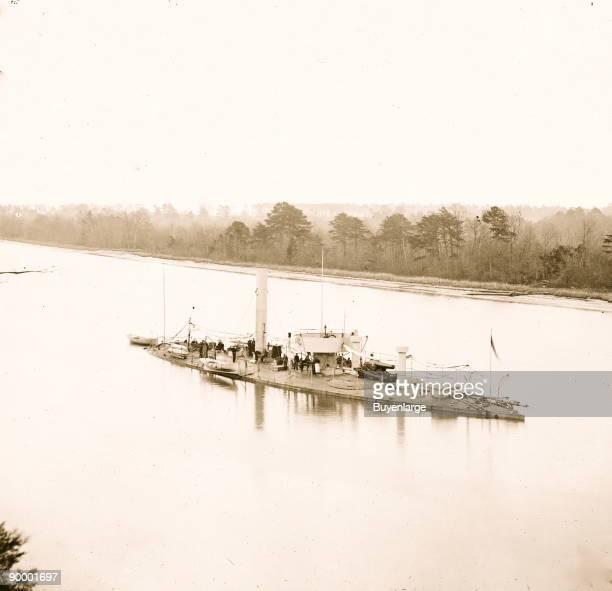 James River, Va. U.S.S. Casco, light-draft monitor