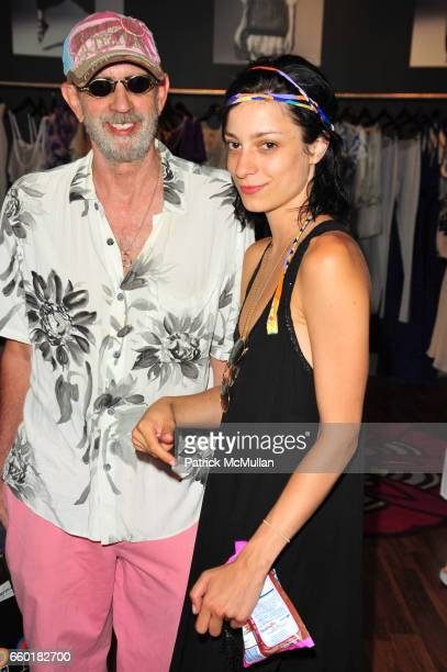 James Rizzi and Marda Spegman attend TEMPERLEY London and CHRISTY TURLINGTON host Shop For CARE at Temperley East Hampton NY on July 18 2009