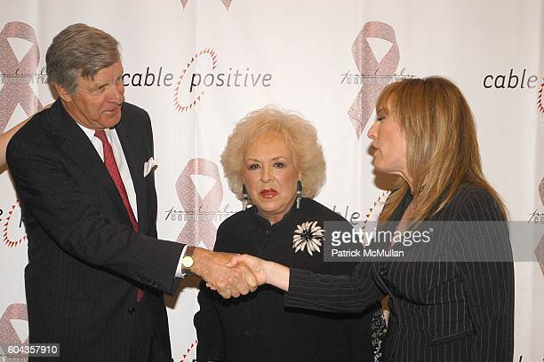 James Robbins Doris Roberts and Linda Cohn attend Cable Positive and Cable TV BigWigs Avow Industry's Fight Against HIV/AIDS at Marriott Marquis on...