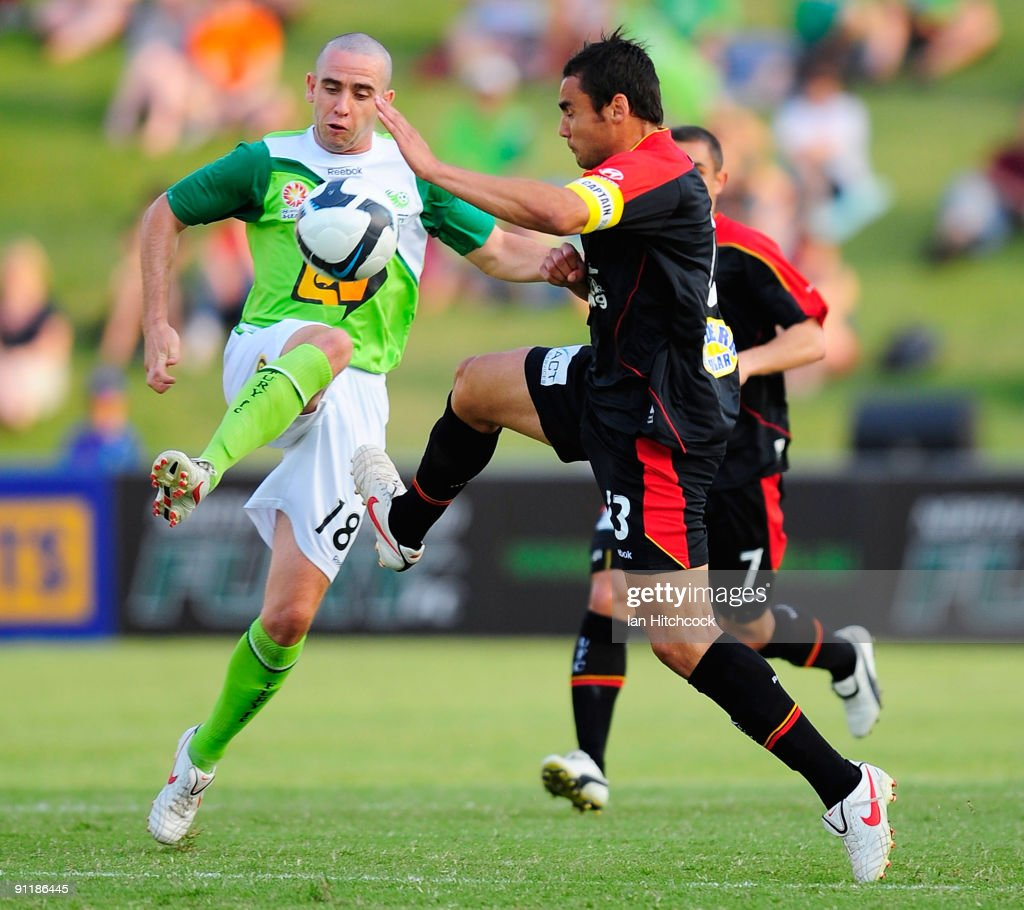A-League Rd 8 - Fury v Adelaide