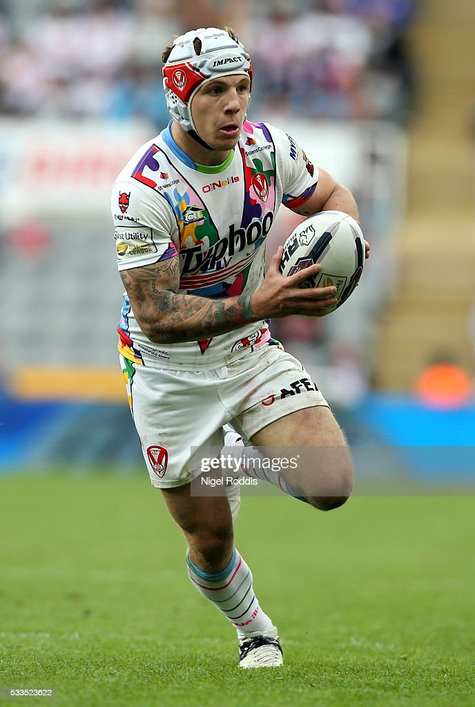 St Helens v Huddersfield Giants - First Utility Super League