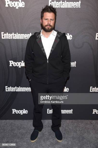 James Roday attends Entertainment Weekly PEOPLE New York Upfronts celebration at The Bowery Hotel on May 14 2018 in New York City