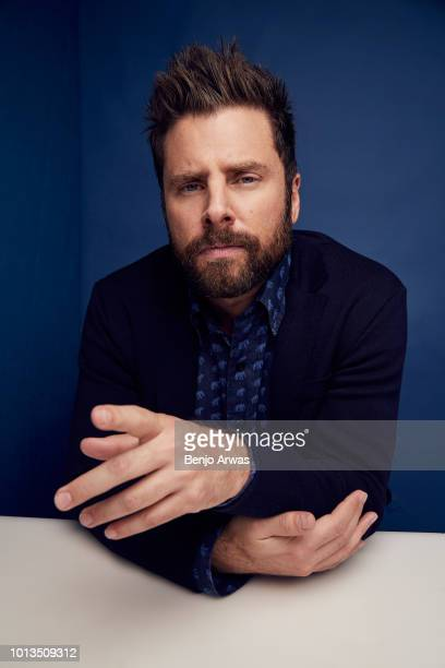 James Roday of ABC's 'A Million Little Things' poses for a portrait during the 2018 Summer Television Critics Association Press Tour at The Beverly...