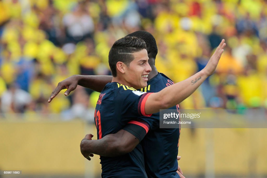 Ecuador v Colombia - FIFA 2018 World Cup Qualifiers : News Photo