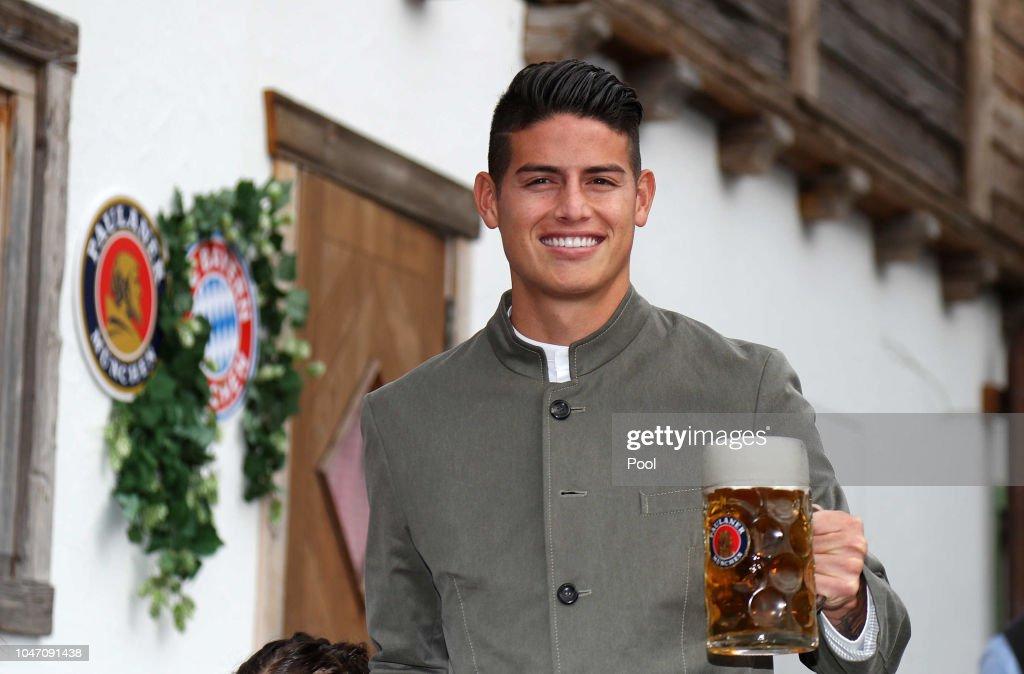 FC Bayern Muenchen Attends Oktoberfest 2018 : News Photo