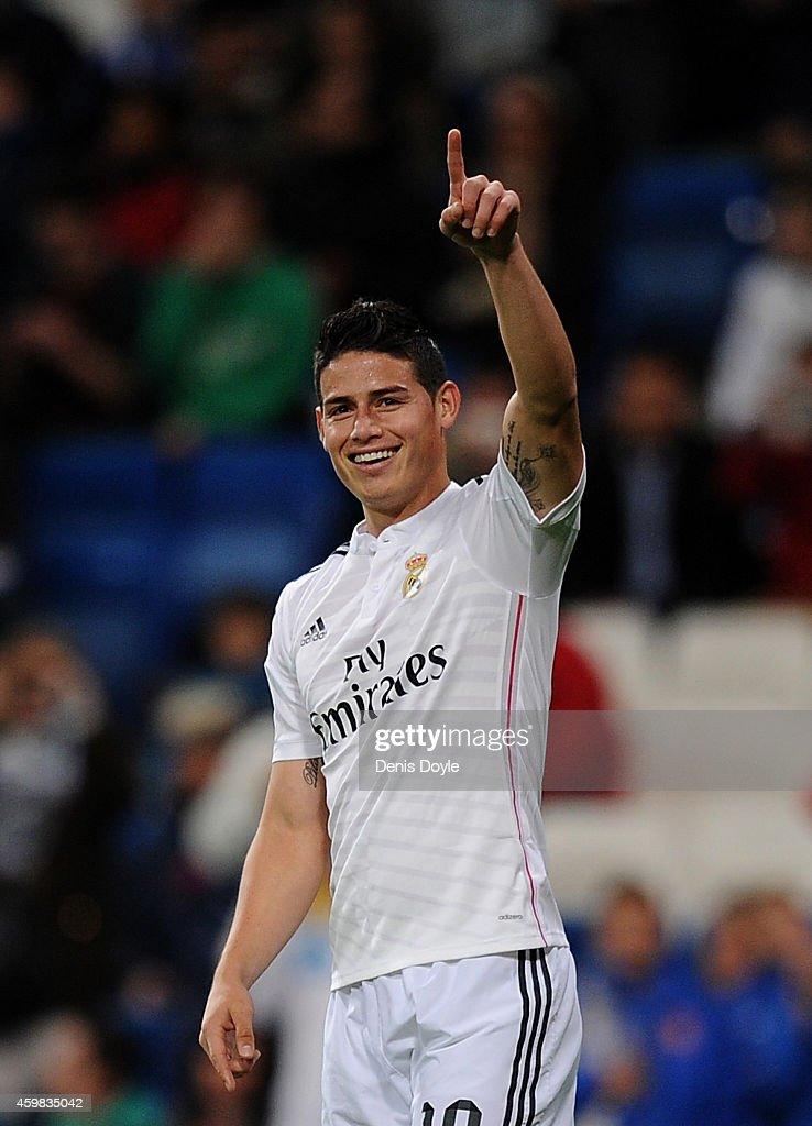 Real Madrid CF v Cornella - Copa Del Rey: Round of 32 : News Photo