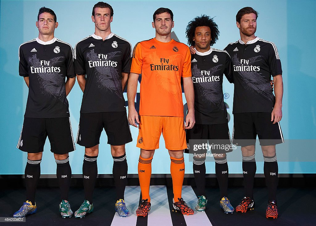 2fe79f7ef Real Madrid Launch Their New 3rd Kit   News Photo