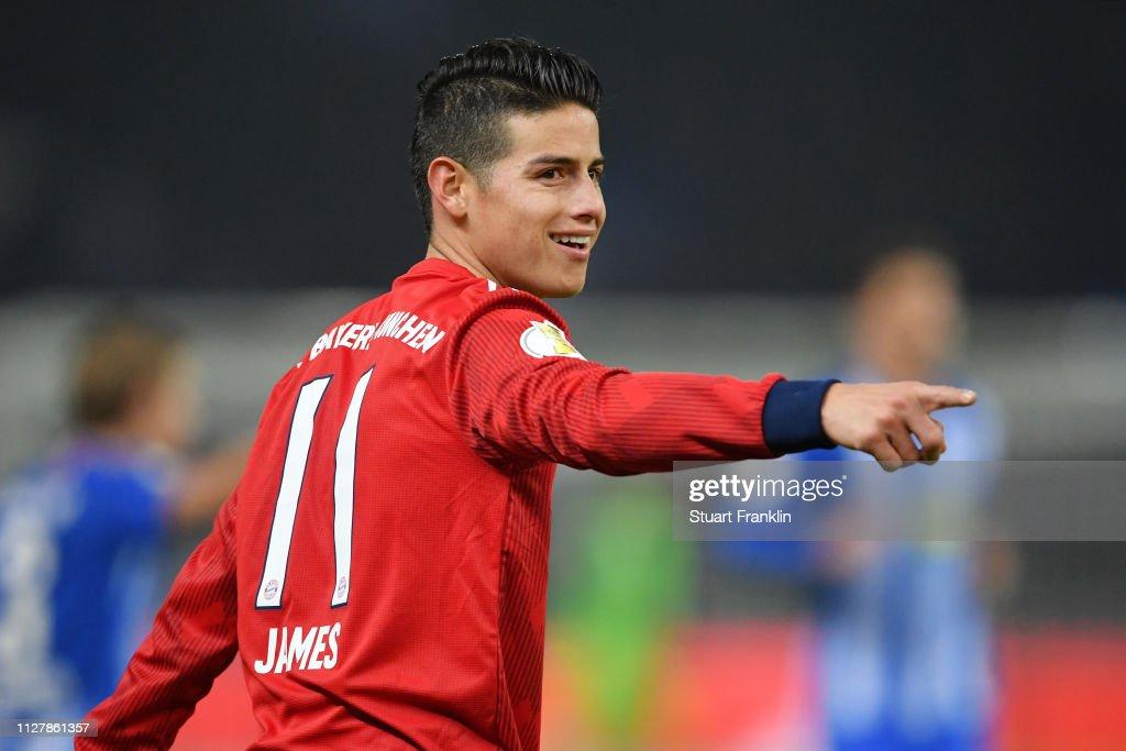 Hertha BSC v FC Bayern Muenchen - DFB Cup : News Photo