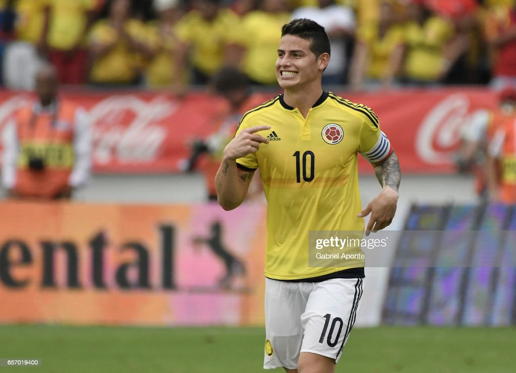 Colombia v Bolivia - FIFA 2018 World Cup Qualifiers : News Photo