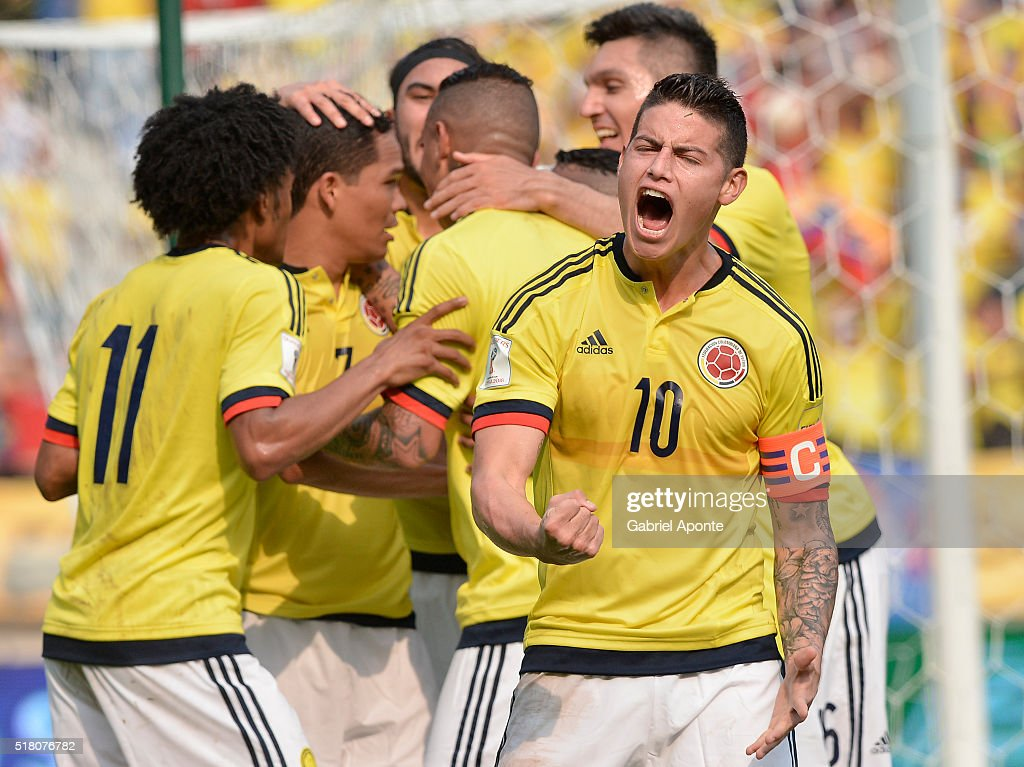 Colombia v Ecuador - FIFA 2018 World Cup Qualifiers : News Photo