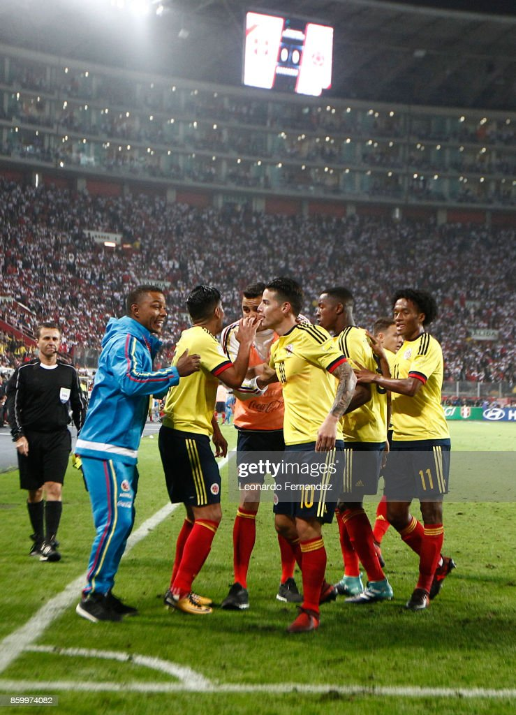 Peru v Colombia - FIFA 2018 World Cup Qualifiers : News Photo