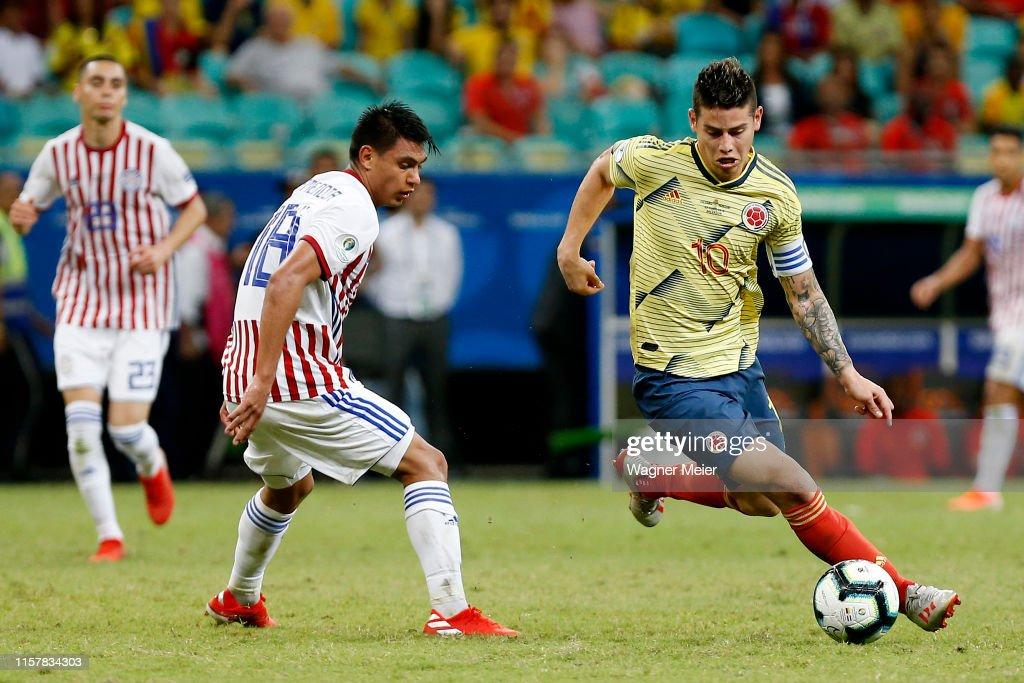 Colombia v Paraguay: Group B - Copa America Brazil 2019 : News Photo