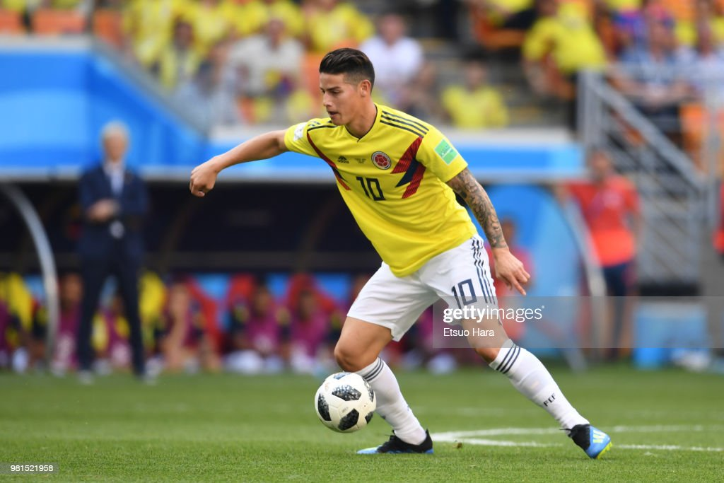 Colombia v Japan: Group H - 2018 FIFA World Cup Russia : News Photo