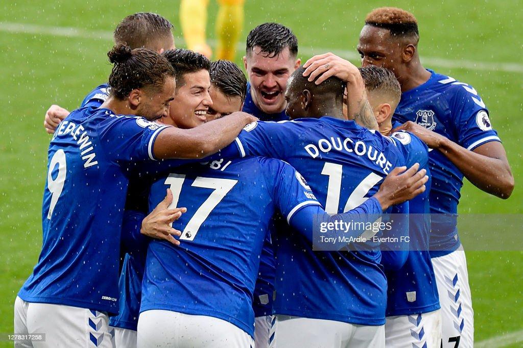 Everton v Brighton & Hove Albion - Premier League : Nachrichtenfoto