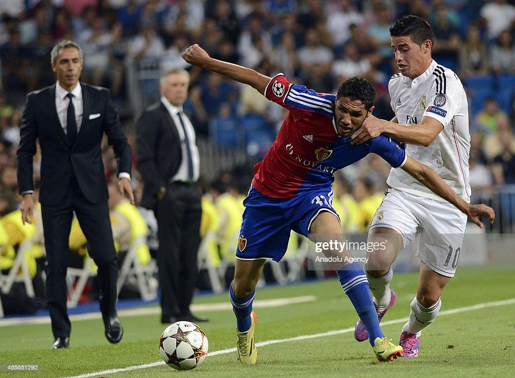 Real Madrid vs FC Basel - UEFA Champions League : News Photo