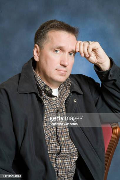 James Rollins American thriller writer portrait Milan Italy 16th January 2007