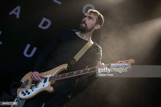 James Ryan of The Slow Readers Club performs at CastlePalooza at Charville Castle on July 2, 2016 in Tullamore, Ireland.