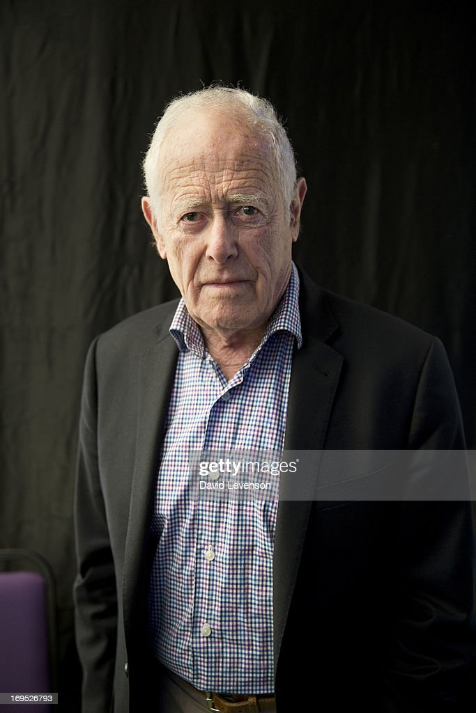 James Salter, writer, attends The Telegraph Hay festival at Dairy Meadows on May 26, 2013 in Hay-on-Wye, Wales.