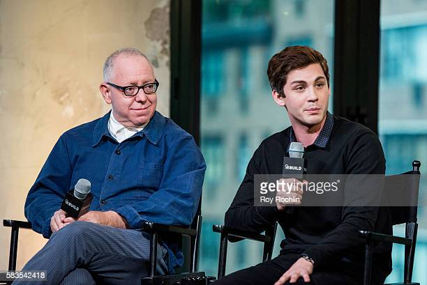James Schamus and Logan Lerman discuss Indignation with AOL Build at AOL HQ on July 26 2016 in New York City