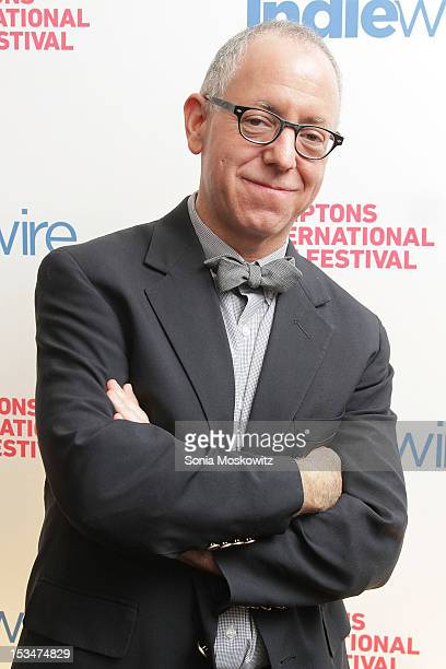 James Schamus attends the Industry Toast To James Schamus during the 20th Hamptons International Film Festival at East Hampton Point on October 5...