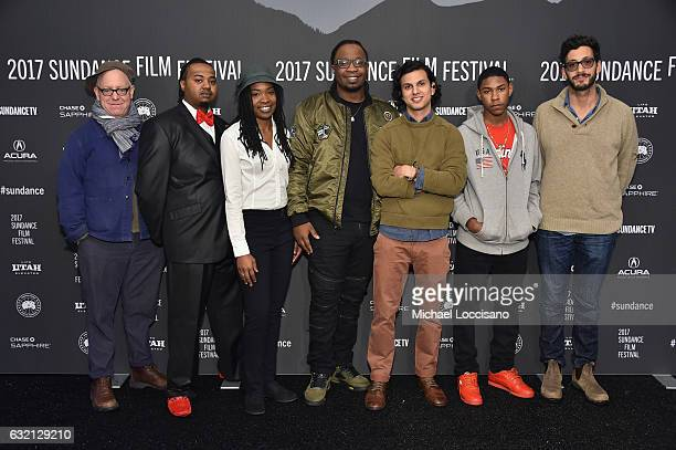 James Schamus Lachion Buckingham Chasity Moore Dontrell Bright director Amman Abbasi Devin Blackmon and Alex Uhlmann attend the Dayveon premiere...