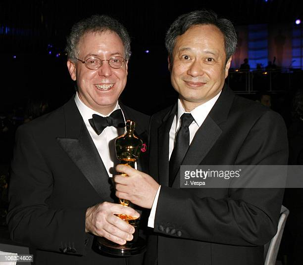 James Schamus nominee Best Picture for Brokeback Mountain and Ang Lee winner Best Director for Brokeback Mountain